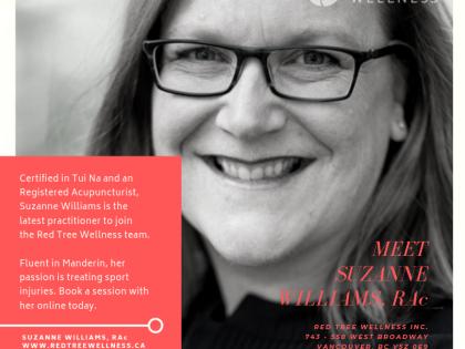 The super Suzanne Williams, RAc!