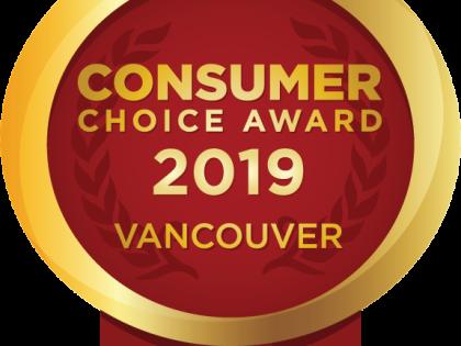 2019 Consumer Choice Award Winner