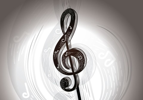 free-musical-notation-key-vector-illustration